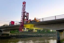 Bridge movement monitoring
