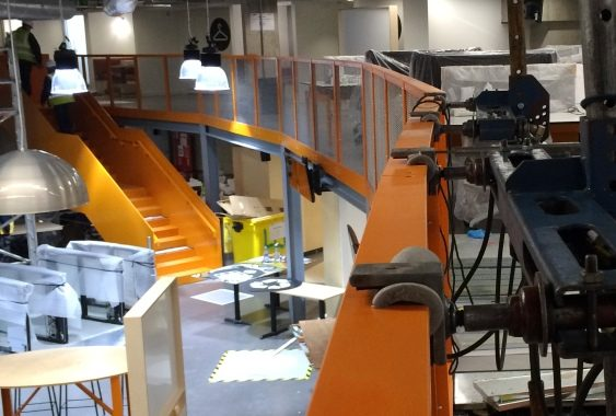 Balustrade and handrail load testing